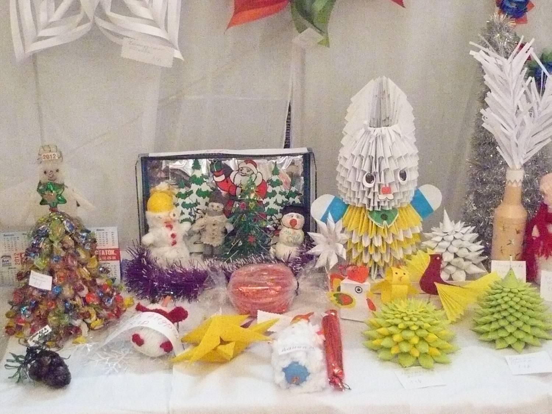 Конкурс на новогодние поделки в детском саду 899